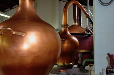 La distillerie de Mosnac