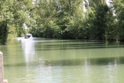 La Charente, fleuve navigable entre Rochefort et Angoulême