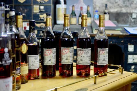 Comment lire une étiquette de cognac?