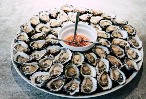 Huîtres à la saintongeaise façon Piqthiu