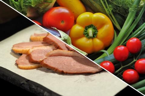 Aiguillettes de canard au pineau et son Méli-Mélo de légumes