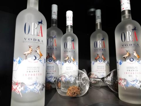 La Vodka franco-charentaise