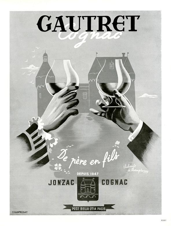 cognac-gautret-de-pere-en-fils-affiche-ancienne